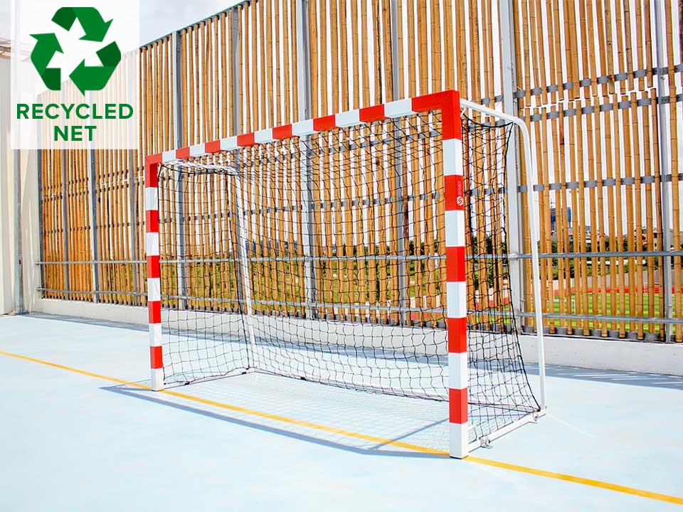 Recycled-handball-net