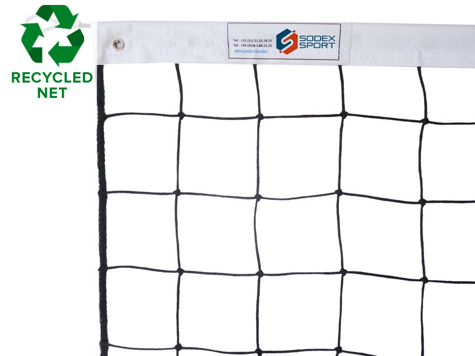 Recycled-volleyball-net